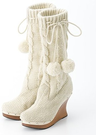 Knitted footwear