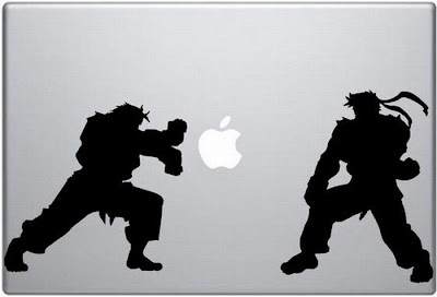 creative apple logo
