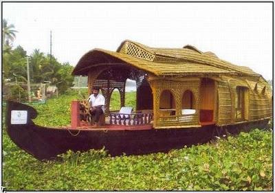 Indian houseboats