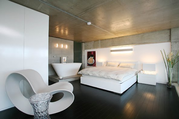 60 awesome bedroom designs funny crazy for How to decorate a loft apartment