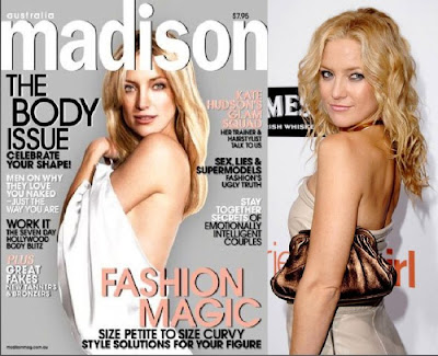 photoshopped magazine covers