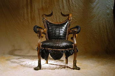 luxurious Baroque antique furniture