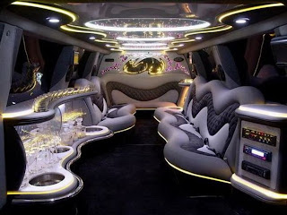 Awesome limo interior