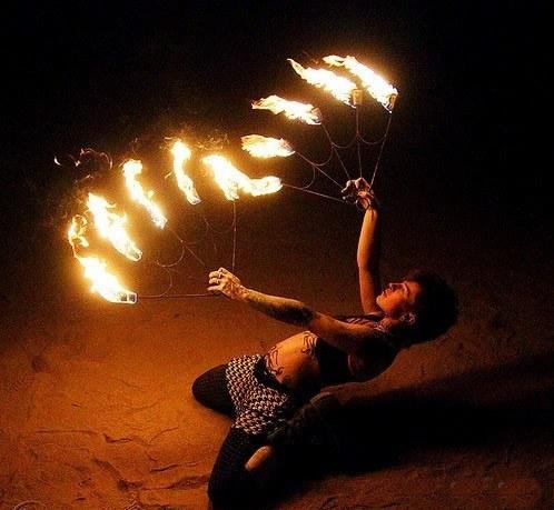 Show com fogo