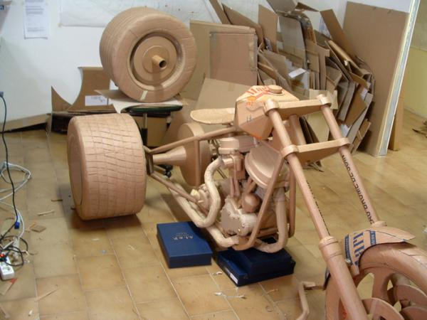 cardboard creative 10 - 14 incredible sculptures sculpted from Cardboard