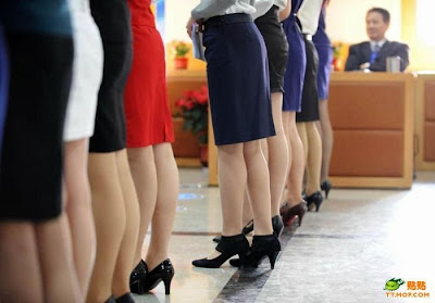 hiring flight attendants