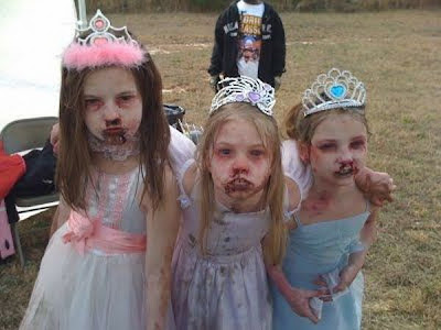 zombies makeup. Children in zombie makeup - 14