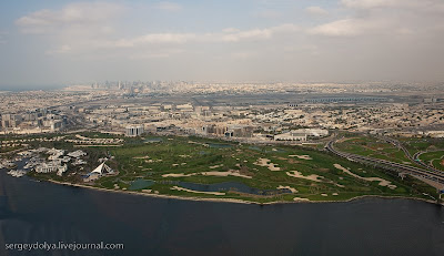 dubai aerial photos