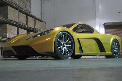 Dubai motor show 2009