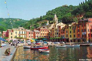 dermaga  Portofino, Liguria