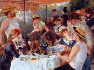 4. Luncheon of the Boating Party by Pierre Auguste Renoir