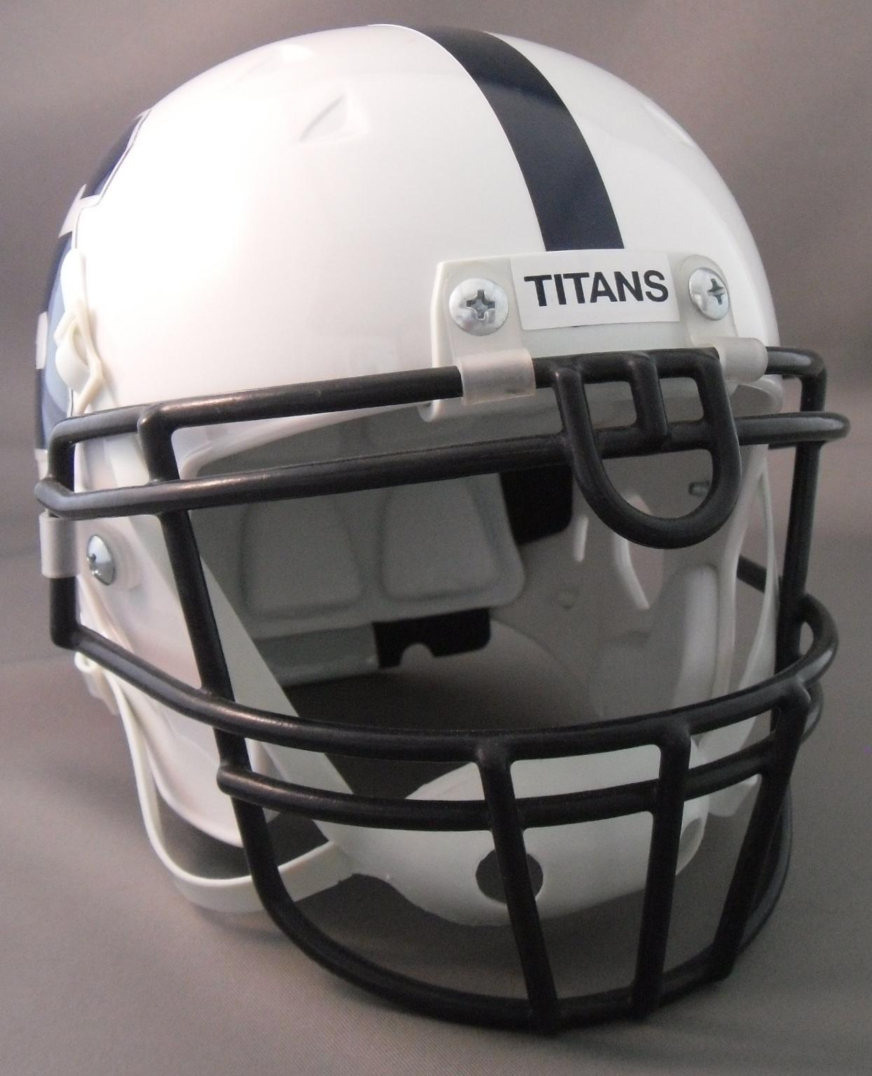Back Bumper Football Helmets Types : Helmetnation syracuse titans a football in utah