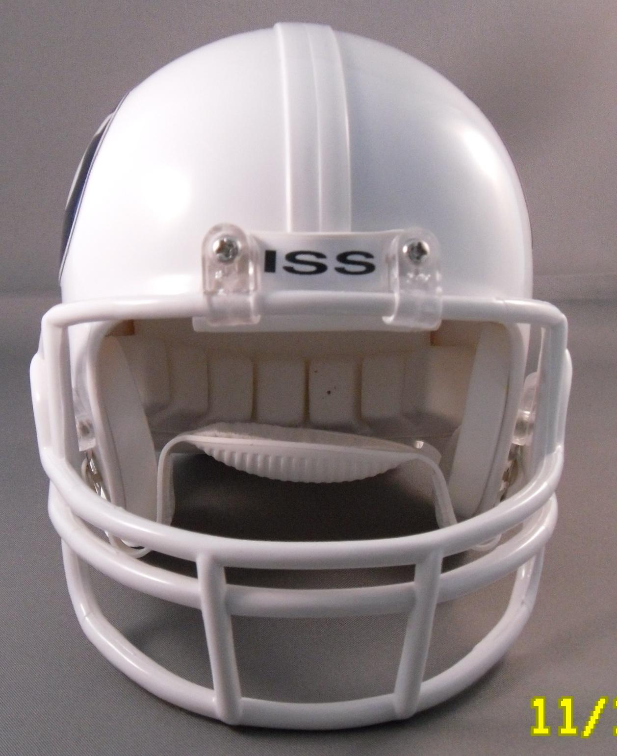 Back Bumper Football Helmets Types : Helmetnation rides again