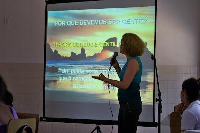 PALESTRA PARA LIDERANÇAS RELIGIOSAS - BRASIL