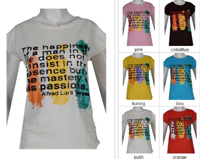 Bo6588 Kaos Remaja Wanita Fashion Online