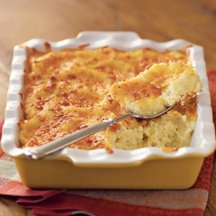 Cooking with Recipes: Mashed Potatoes Au Gratin (serves 6 - 8)