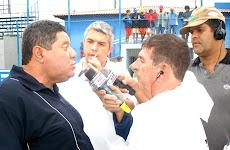 Coletiva após a eliminação na Copa Rio 2007