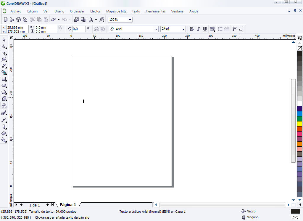 Descargate Corel Draw x3 Portable (en español) en este post