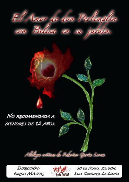 Teatro aficionado el grupo alicantino virtual grupo for Amor de don perlimplin con belisa en su jardin