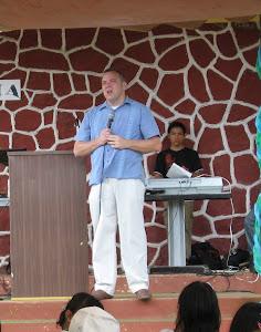 Preaching in Panama