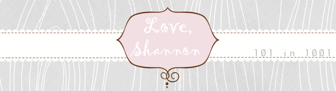 Love,Shannon 101 in 1001