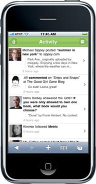 Deze blog - op maat van jouw smartphone