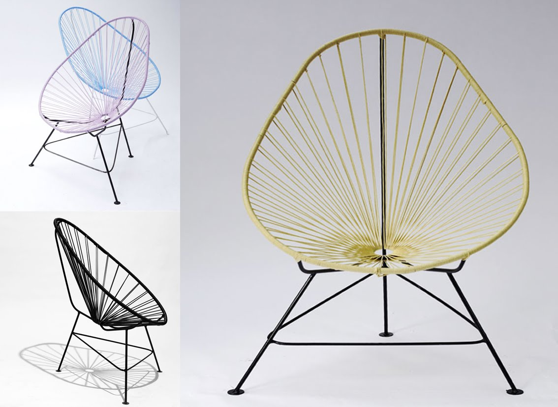 Acapulco chair living room - Or In My Living Room Or In My Summerhouse One Day