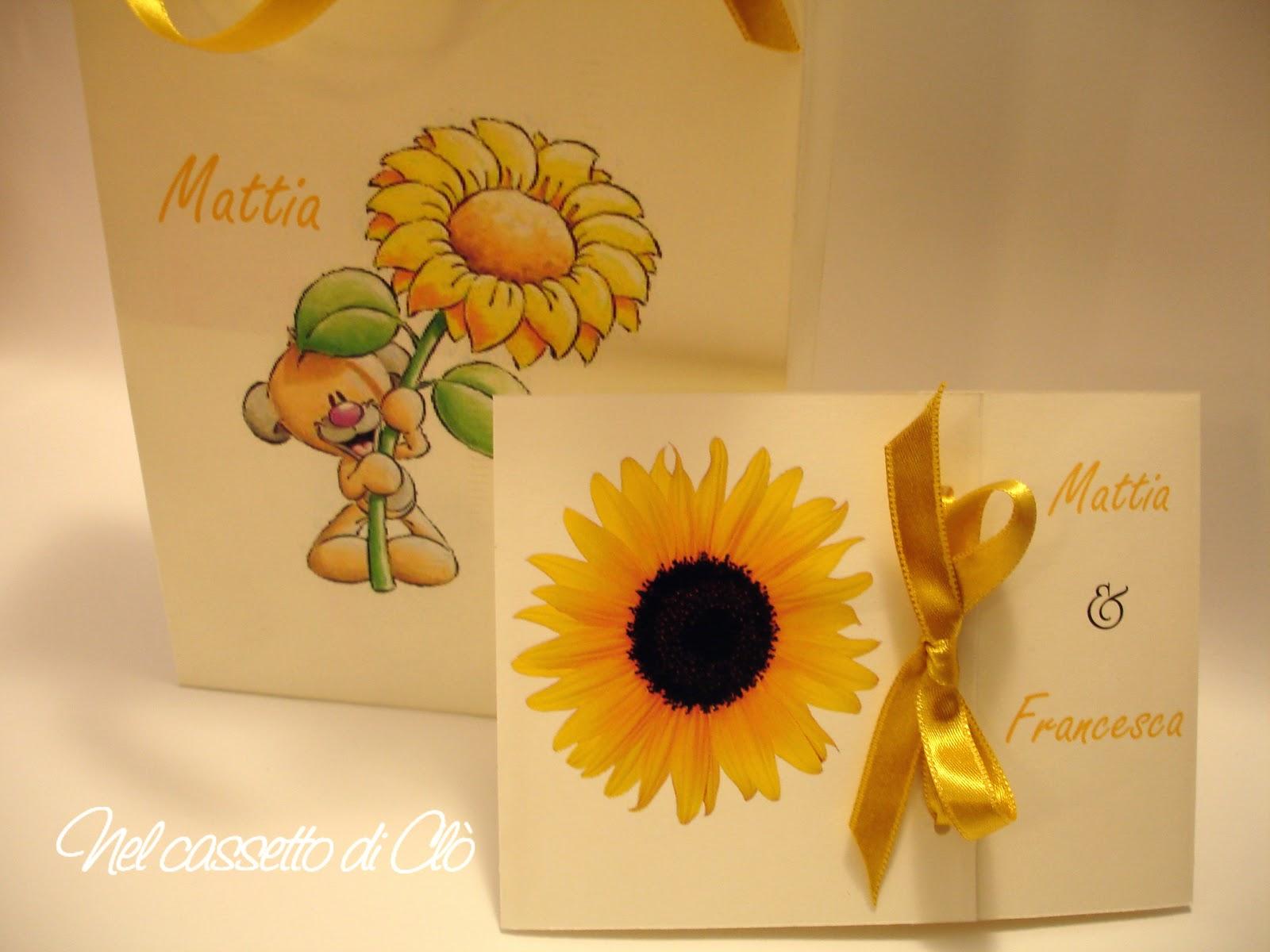 Partecipazione Matrimonio Girasoli : Partecipazioni di nozze con girasoli migliore collezione