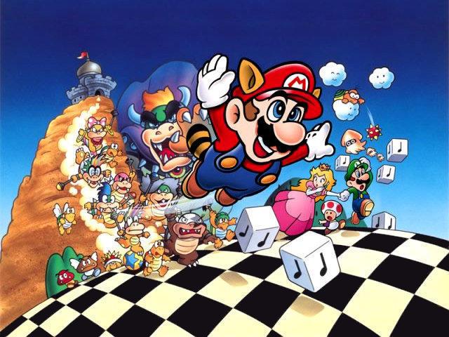 Mario Bros (Un clasico) SuperMarioBros3Wallpaper640