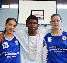 JOANA, DIKILSON E ANDREIA NAS SELECÇÕES DISTRITAIS DE BASQUETEBOL