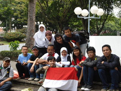 Amazing Race, with batagor community, in Bandung Paris Van Java, West Java