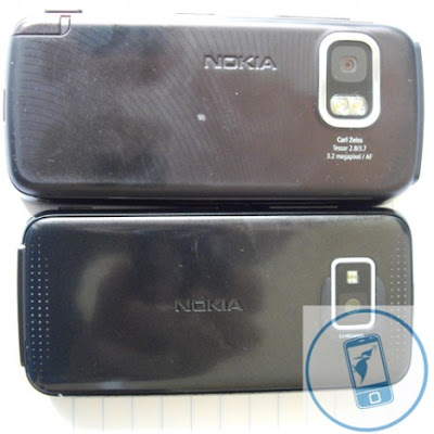 Camera compare of Nokia 5530 XM and Nokia 5800 XpressMusic