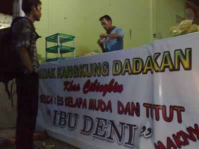 Rujak Kangkung Cibingbin di STAIN Cirebon