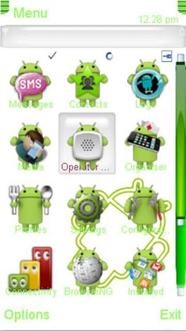 Android theme for Nokia C6