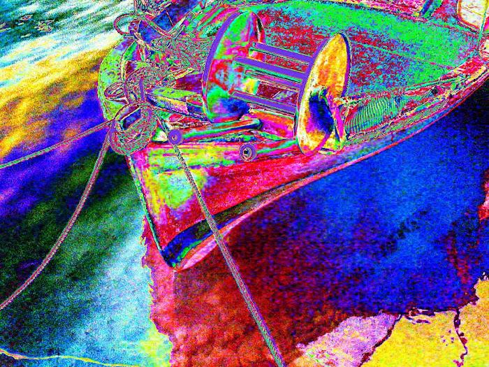 boat [ Greek Meta - Impressionism ] 2