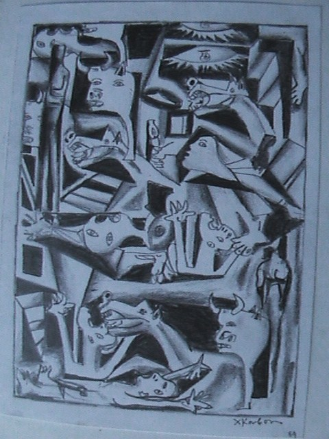 Picasso / Guernica 100 [   ]