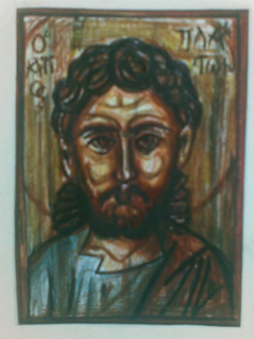 Αγιος Πλατων [ paintings ]