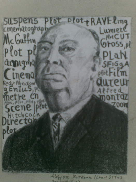 Alfred Hitchcock [ paintings ]