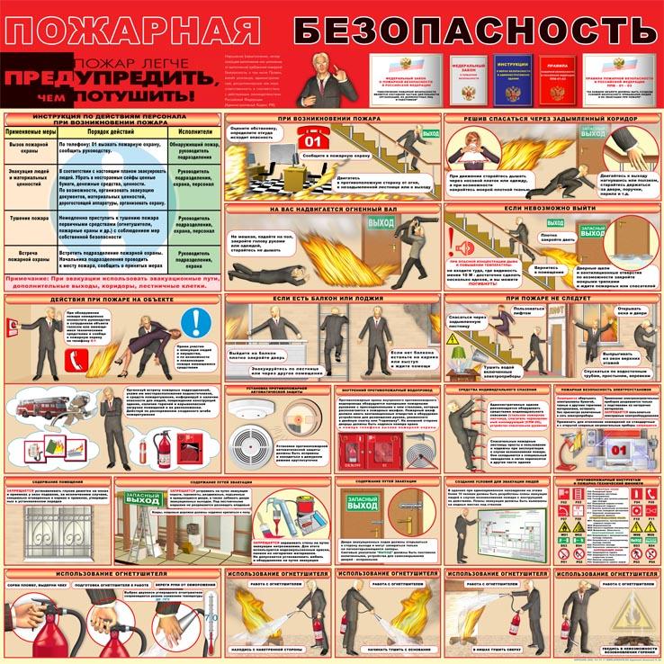 пожарная безопасность в офисе картинки