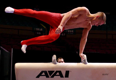 Gymnast Alexander Artemev