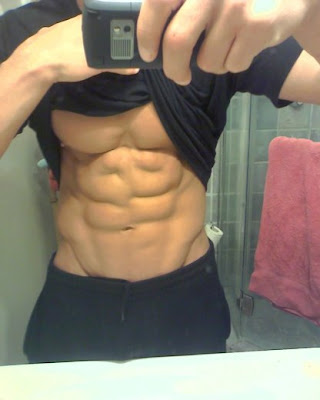 hotties with six-pack abs,