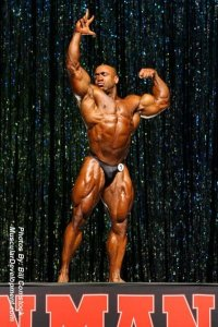 IFBB Pro Troy Duracell Brown