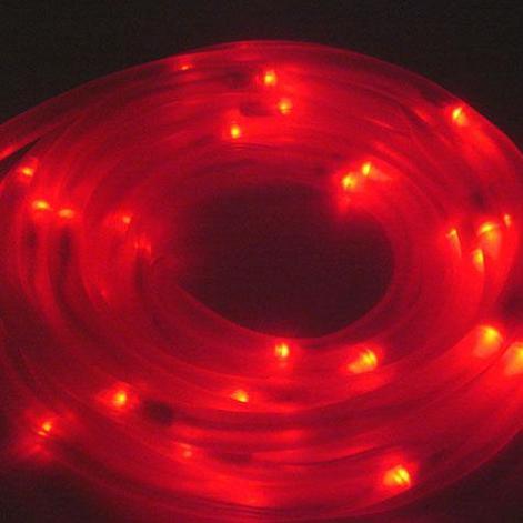 Red solar lights