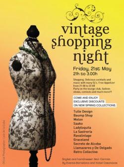 Segunda edición del Vintage Shopping Night