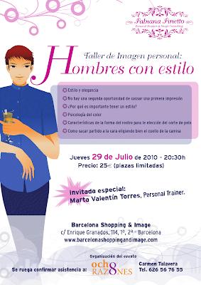 Seminario de Asesoría de Imagen para Hombres en Barcelona