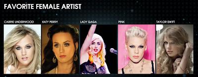 Lady Gaga en el People Choice Awards