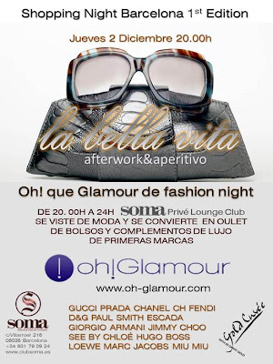 La shopping night del Soma Club