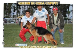 7 DE JUNIO DE 2009,PRIMER LUGAR, 2DA CAT: *QUENN DI CASA CAPUTI