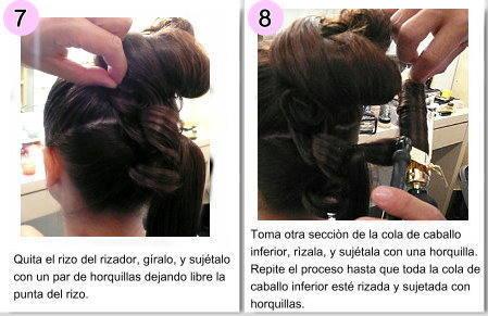 Imágenes de peinados con rizador paso a paso - Peinados Con Rizador Paso A Paso