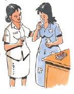 Istirahat cukup supaya ibu sehat dan ASI keluar banyak.